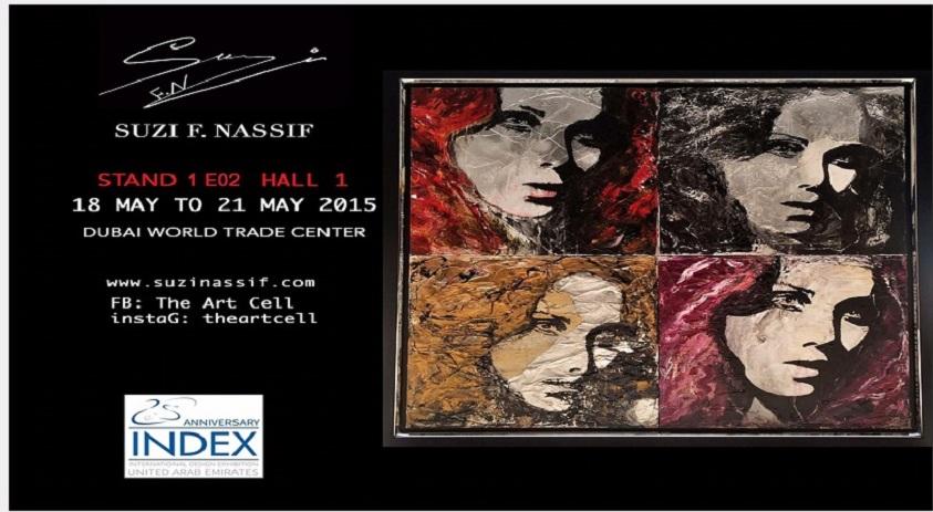 International Design Art Exhibition Dubai (INDEX)-SuziNassif