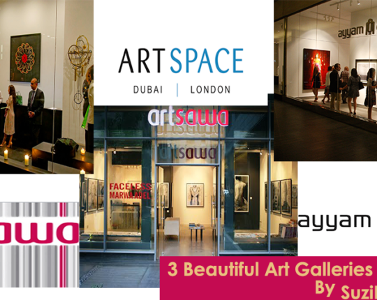 3 beautiful Art Galleries in Dubai that you must visit