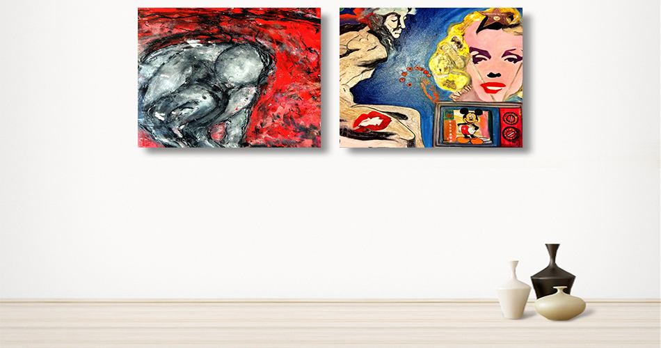 Famous artists,digital surrealism, abstract art, surrealist art-SuziNassif