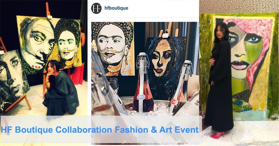 HF Boutique art exhibitions in Dubai, art events in Dubai, portrait artists, digital surrealism artists , abstract expressionism-SuziNassif