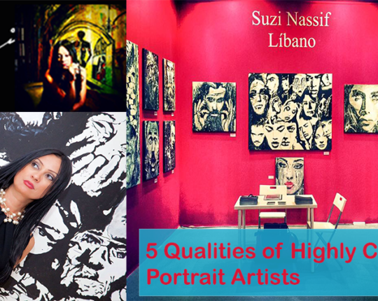 5 Qualities of Highly Creative Portrait Artists