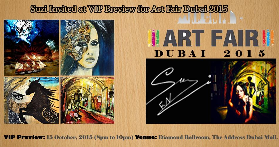 Suzi Invited at VIP Preview for Art Fair Dubai 2015-SuziNassif