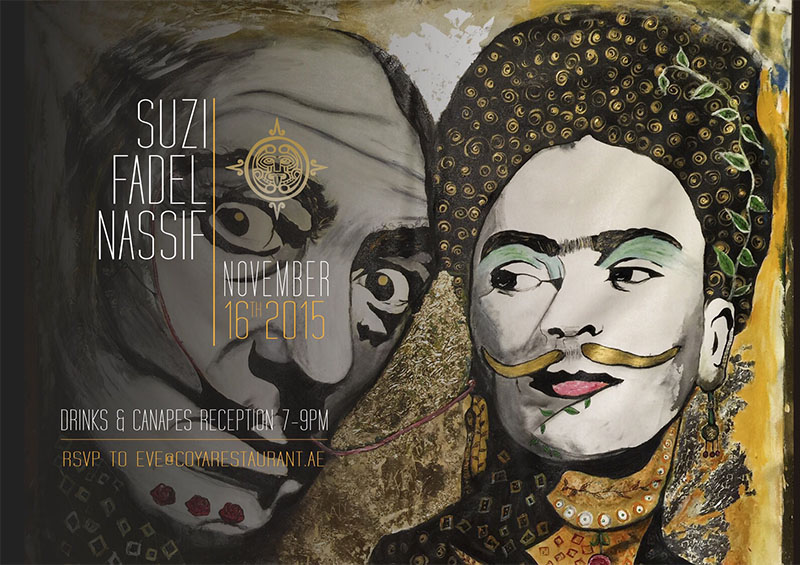 Suzi To Appear At Coya Collective Art Event
