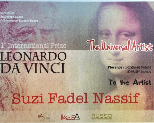 Leonardo Da Vinci Awards 2015