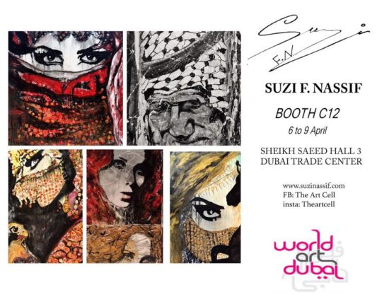 Meet Suzi Nassif at World Art Dubai 2016 Exhibition