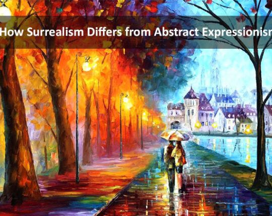 How Surrealism Differs from Abstract Expressionism?