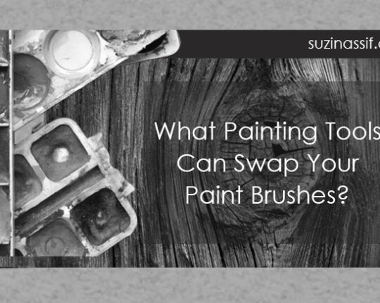 What Painting Tools Can Swap Your Paint Brushes?