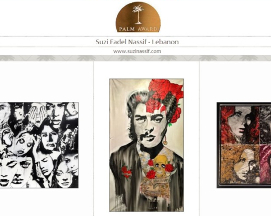 Suzi Nassif- The Proud Nominee for Palm Art awards 2016