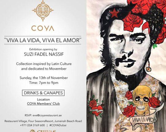 Viva la Vida, Viva el Amor Art Opening by Suzi Fadel Nassif