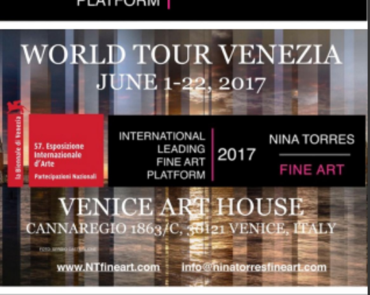 57th Venice Biennale: Viva Arte Viva WORLD TOUR VENEZIA