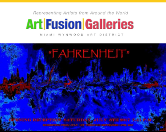 "Suzi to Appear in ""Fahrenheit"" Gala Opening Reception-Art Fusion Galleries"