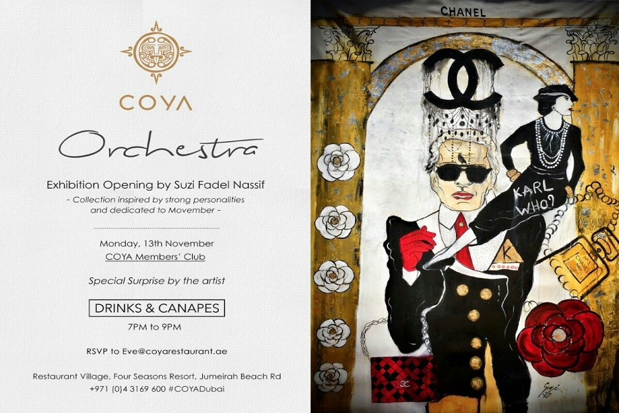 coya art exhibition Dubai