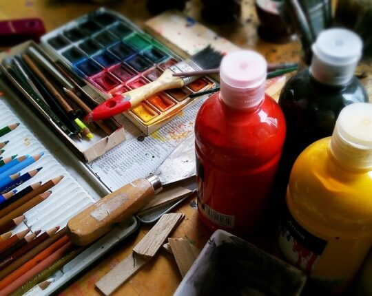 Oil Painting Material for Beginners