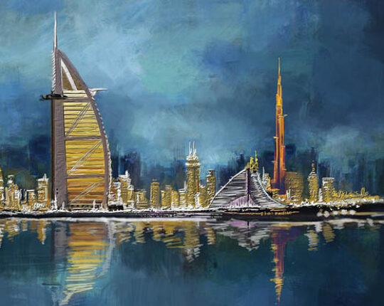 Where I can buy oil paintings in Dubai