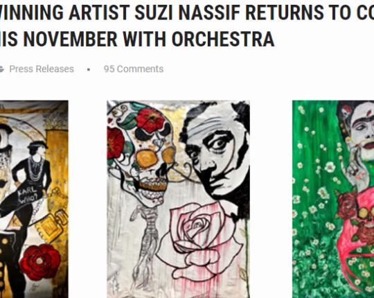AWARD WINNING ARTIST SUZI NASSIF RETURNS TO COYA DUBAI THIS NOVEMBER WITH ORCHESTRA