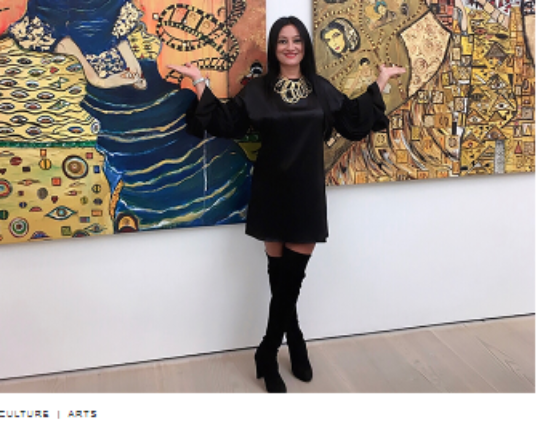 HOW SUZI FADEL NASSIF USED ART AS AN ESCAPE DURING THE 2006 WAR IN LEBANON