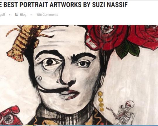 THE BEST PORTRAIT ARTWORKS BY SUZI NASSIF